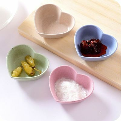 4pcs/Set Tableware Sauce Plate Food Snack Dish Small Plate Seasoning Dish
