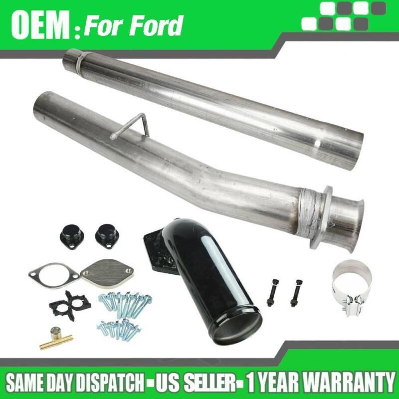 2008-2010 Ford 6.4 Powerstroke Diesel 6.4L 6.4 Heavy Duty Up Pipes NO EGR Split