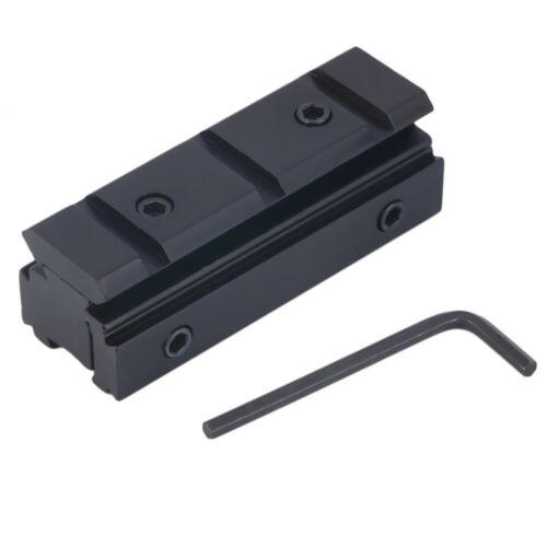 Original Optics Rifle Scope Mount Adapter 20mm Rail Base Picatinny Weaver Stock