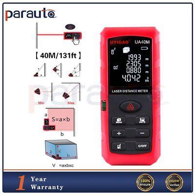 40m131ft Vr Digital Laser Distance Meter Range Measure Portable Diastimeter
