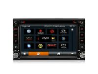 "Double Din Stereo 7"" Inch Full European Gps Full Hd/ Dvd / Aux/ Usb/ Bult in Bluetooth"