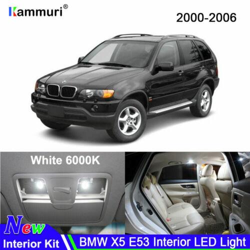 15x Xenon White Canubs Interior LED Lights Kit for BMW Series 1 E81 E82 E87