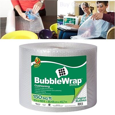 Bubble Wrap Original Cushioning Packing Material Wrapping Moving Shipping 150 Ft