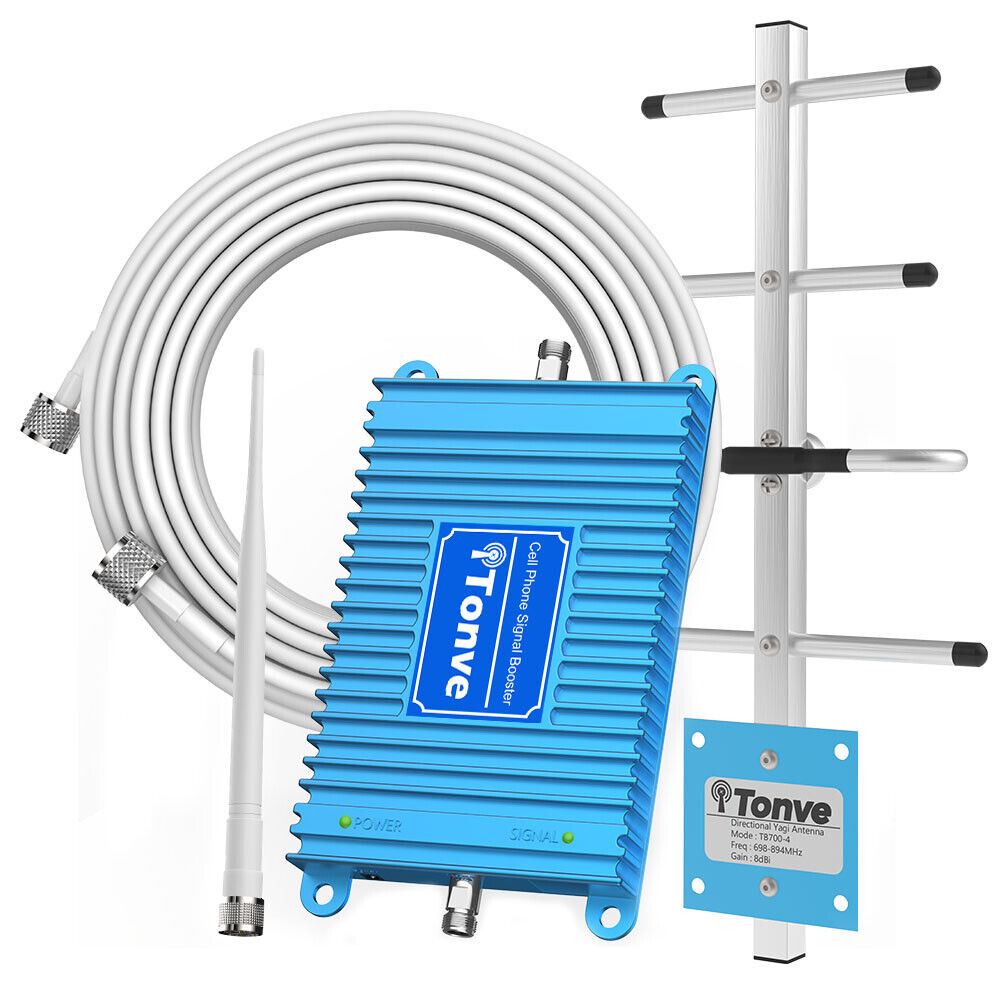 Home 4G LTE Cell Phone Signal Booster 700MHz Band 13/12/17 F