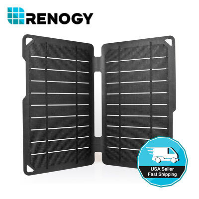 5V 7W Foldable USB Solar Panel Portable Battery Charger f Phone Hiking Camping