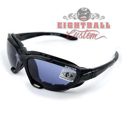 Bobster RENEGADE Motorradbrille Biker Brille für Harley Fahrer  selbsttönend