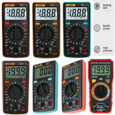 Aneng Lcd Display Digital Multimeter Acdc Voltagecurrentresistancencv Meter