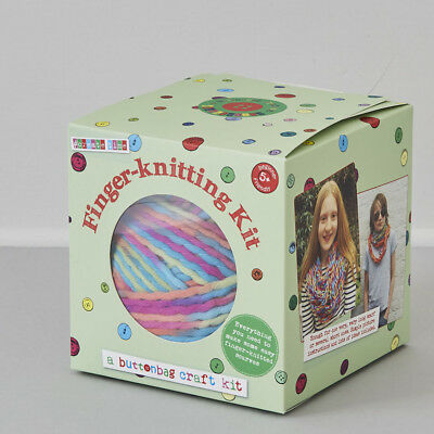 Buttonbag Finger Knitting for Beginners Kit - Knitting for Kids
