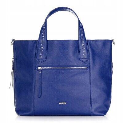 Blaue Nieten-handtasche (Damentasche,Umhängetasche  Handtasche ,Shoppers  Damen  Blau-nieten)
