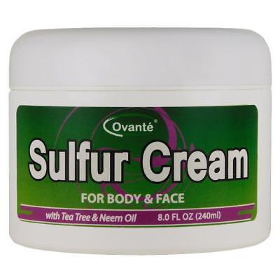 Sulfur Skin Cream  Antifungal Healing Cream for Jock Itch, R