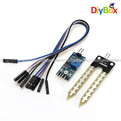 12510pcs Soil Hygrometer Detection Module Moisture Sensor F Arduino Smart Car