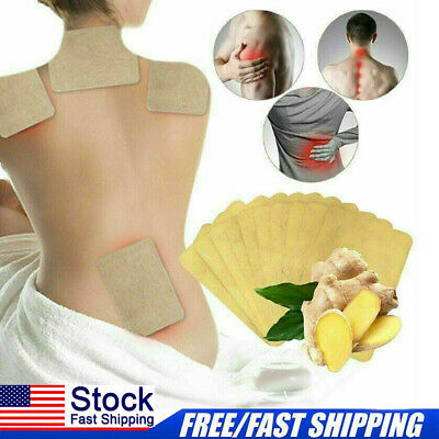 12Pcs Detox Body Foot Pad Patch Herbal Weight loss Ginger Extract Health Care US