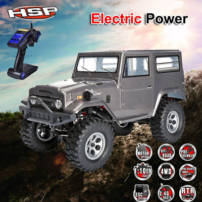 1/10 Scale RC 4WD RTR Off Road High Speed Hobby Remote Control Car Rock Crawler
