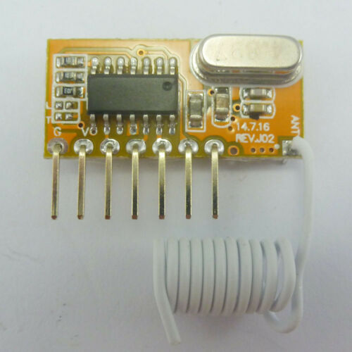 315MHz ASK Super Heterodyne 2272 Arduino Decoder Receivers  RF Wireless Modules