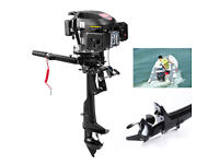 HANGKAI 4 Stroke 6HP Outboard Motor Fishing Boat Engine Air Cooling 2500rpm US
