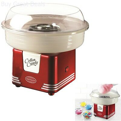 Nostalgia Electrics Retro Series Hard Sugar Free Candy Cotton Candy Maker
