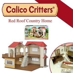 NEW Calico Critters Red Roof Country Home Condtion: New
