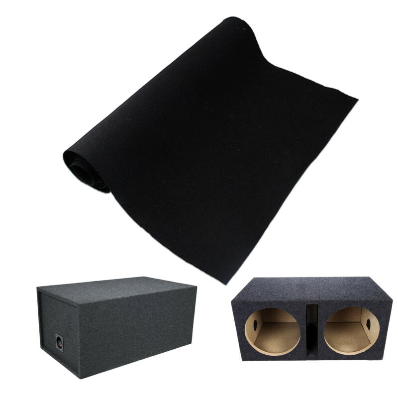 "50""x 78"" Speaker Box Carpet Wrap Audio Sub woofer Car Trunk Liner Under-felt"