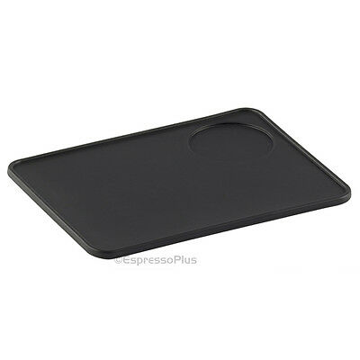 Flat Espresso Tamping Mat with Tamper Holder - Black for sale  Shipping to South Africa