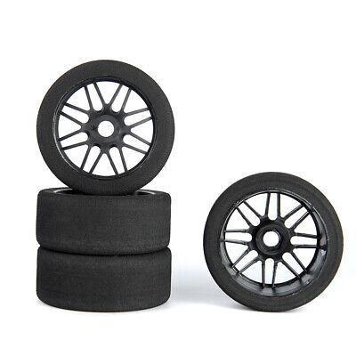 us 4pcs 17mm hex 105mm foam tires