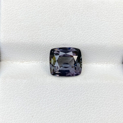 Natural Unheated Grey Spinel 3.66 Cts Madagascar Cushion Cut Loose Gemstone