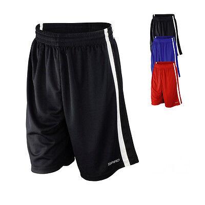Spiro Herren Basketball Short Trainingshose BASKETBALL QUICK DRY SHORTS S279M