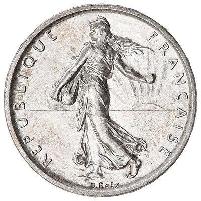 (1) 1960 - 1964 Silver France French 5 Franc dollar Moneda de Plata