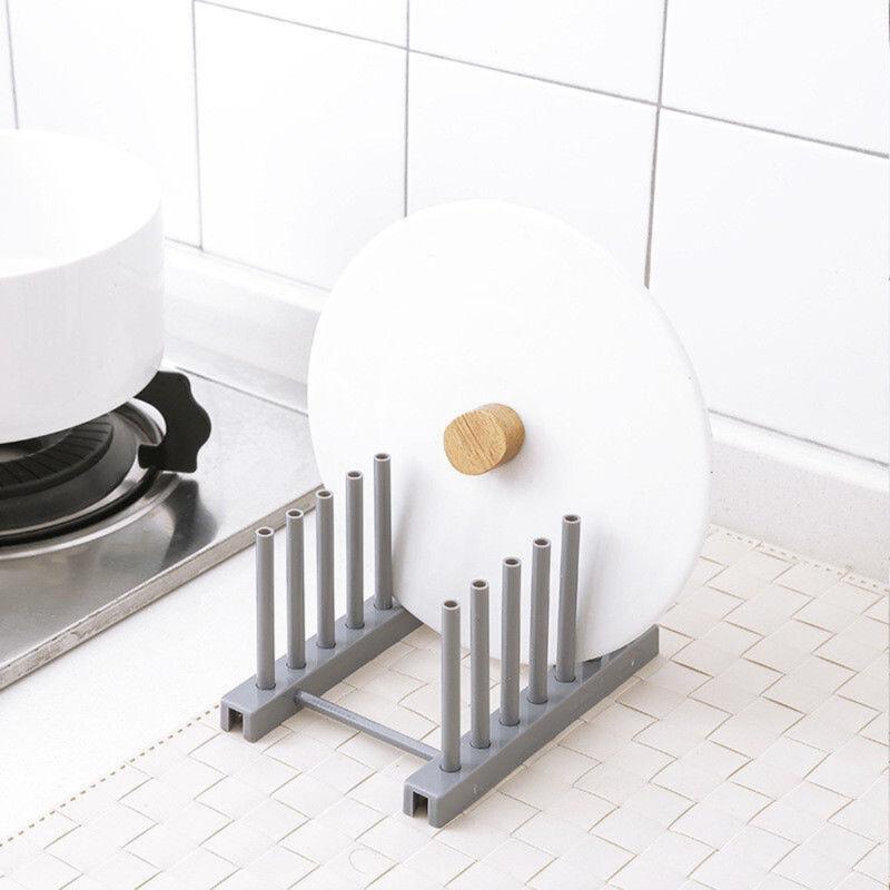 Cover Plate Kitchen & Dining Storage Holder Dish Shelf Dish