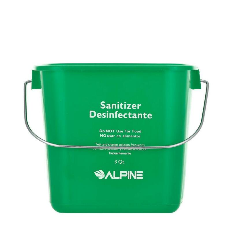 Alpine Industries 3 Qt. Green Cleaning Pail Bucket (8 pack)