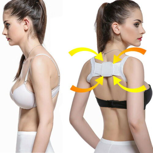 US Posture Corrector Device Comfortable Back Support Braces Shoulders Chest Belt Health & Beauty