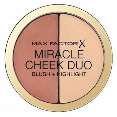 MAX FACTOR Miracle Cheek Duo 20 Brown Peach & Champagne Blush/Highlight