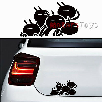 1Pc Funny Style A Group Of Tuzki Hellaflush Vinyl Motorcycle Car Sticker Decal