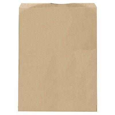 100 Brown Kraft Gift Bags Merchandise Bags Paper Bags 5x 7