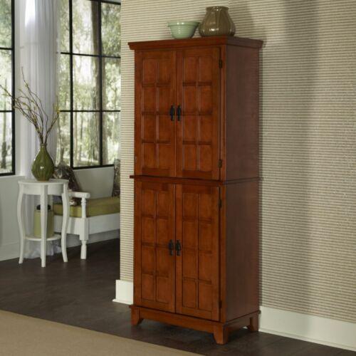 Kitchen Furniture Storage Pantry Cabinet Cupboard Wood Oak M