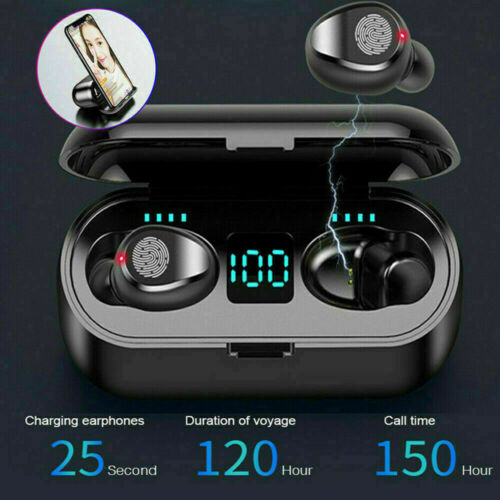 Bluetooth Earbuds for iPhone Samsung Android Wireless Earphone IPX7 Waterproof 1