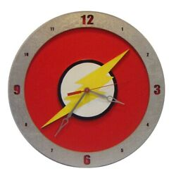 The Flash Wall Clock | 14 Diameter | Fan Inspired | Handmade in USA