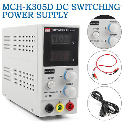 Mch-k305d Switching Power Supply Adjustable Regulator Single Channel Functional