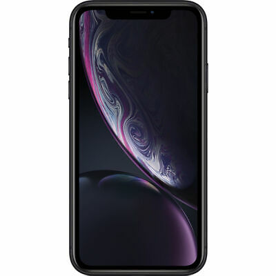 Apple iPhone XR Black 64GB A1984 LTE GSM CDMA Verizon Unlocked - Good