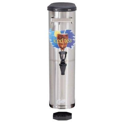 Wilbur Curtis Tcn Tea Dispenser Narrow 3.5 Gallon Stainless Steel