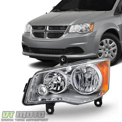2011-2017 Dodge Grand Caravan 08-16 Town & Country Halogen Headlight Driver Side