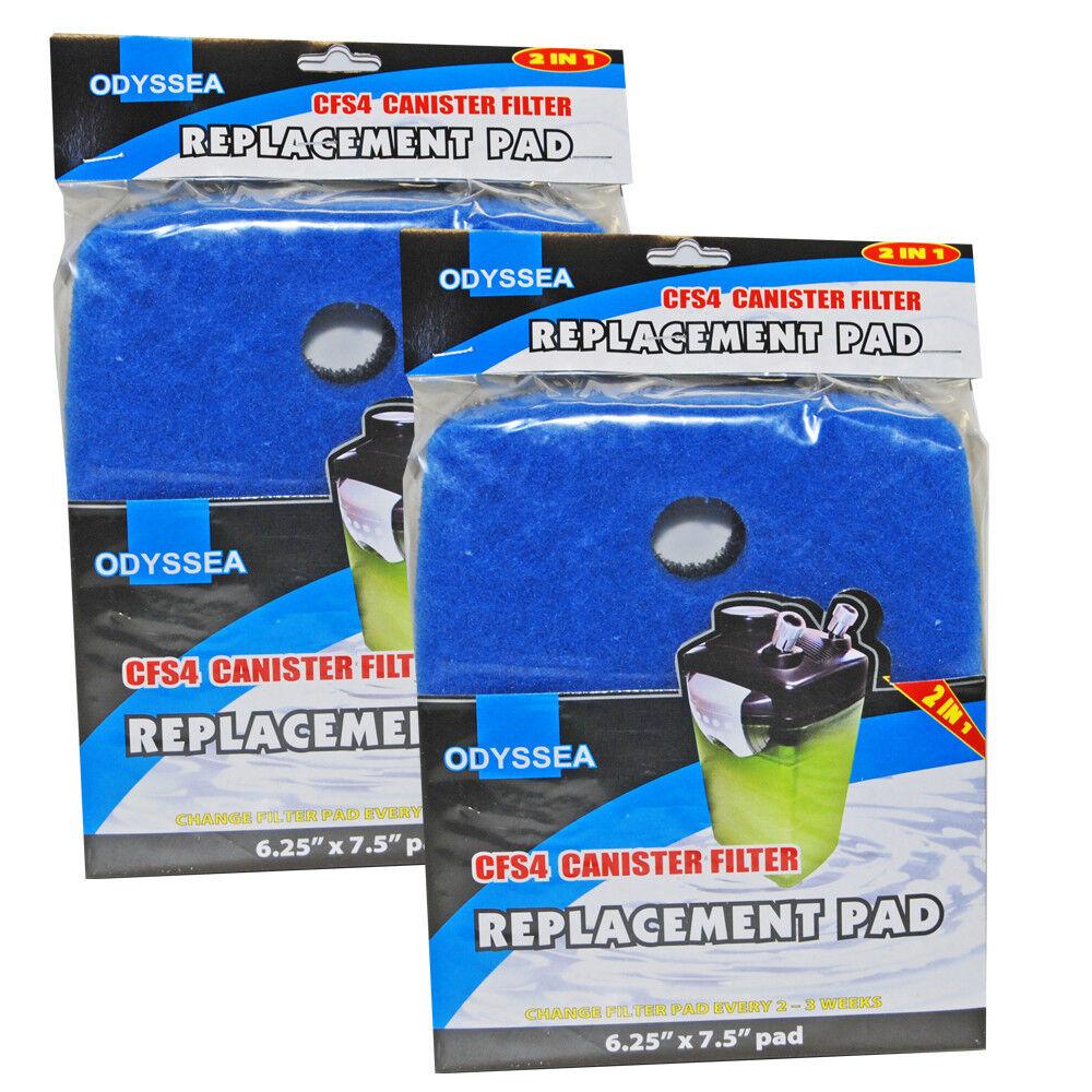 CFS 700 Filter Pad Floss 3 Pack Aquarium Canister Filter External Replacement