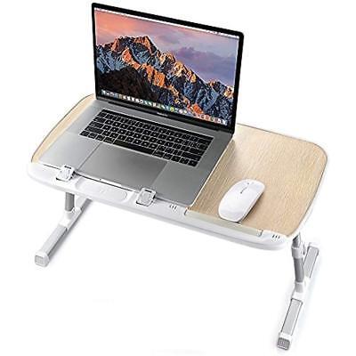 Laptop Desk Stands For Bed, TaoTronics Foldable Desks, Height Adjustable, Tray -