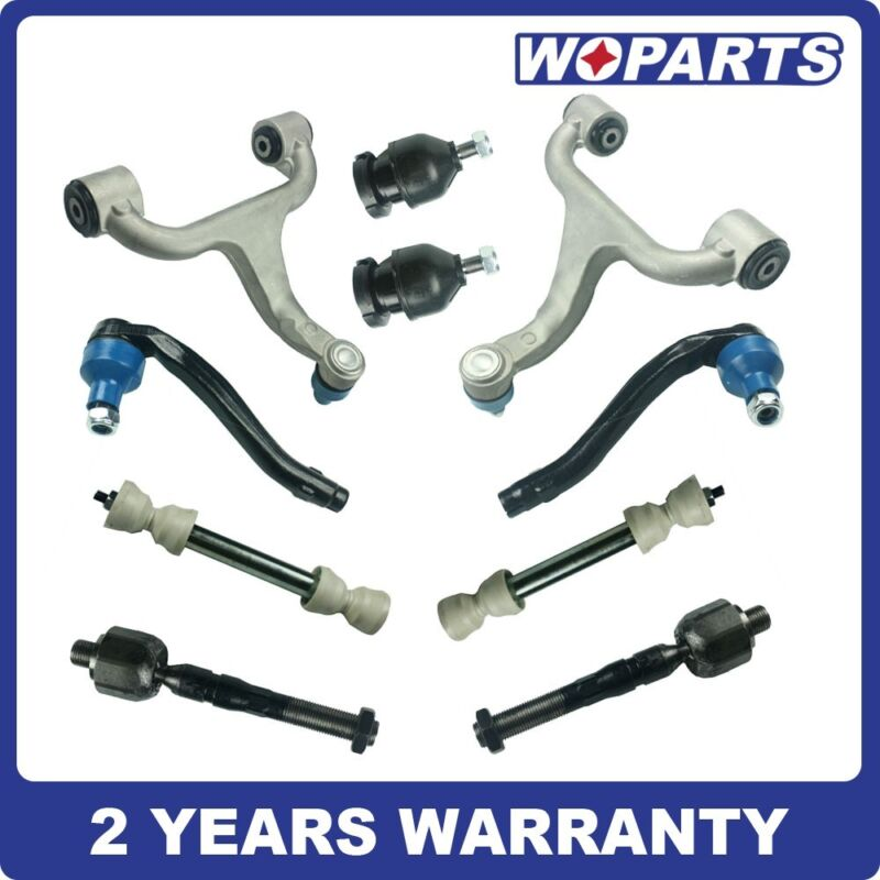 Suspension Control Arm Kit Fit For Mercedes W163 Ml320/350 Front Rear L/r 10pcs