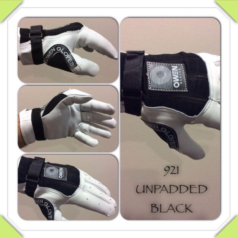 Handball Gloves Padded Owen Owen Handball Gloves 921 Unpadded White Black One Wall 3 4 Wall Handball