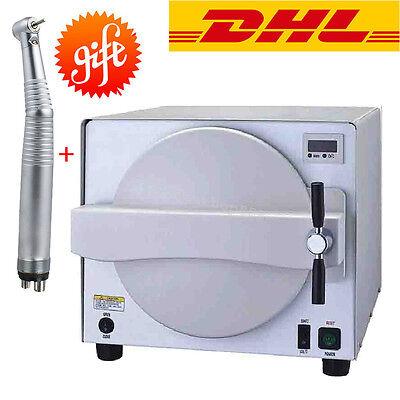 18l Medical Dental Steam Sterilizer Autoclave Equipment Sterilization Handpiece