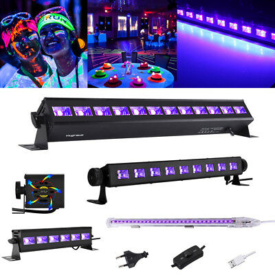 LED UV BAR Schwarzlicht 9W 18W 27W 36W UV Leiste Party Bühnenlicht Deko Effekt