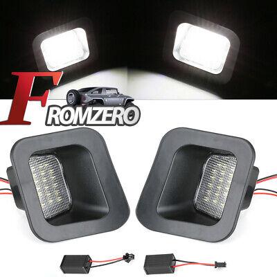 LED License Plate Rear Bumper Lights Lamps For Dodge Ram 1500 2500 3500 03-18 X2