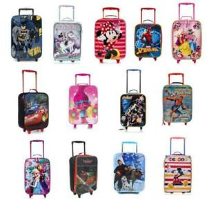 Kids Soft-side Pilot Case - Carry on Trolley Luggage for Boys Girls