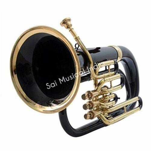 Sai Musical India Euphonium Peu-225. Bb, 3 Valve (Black)