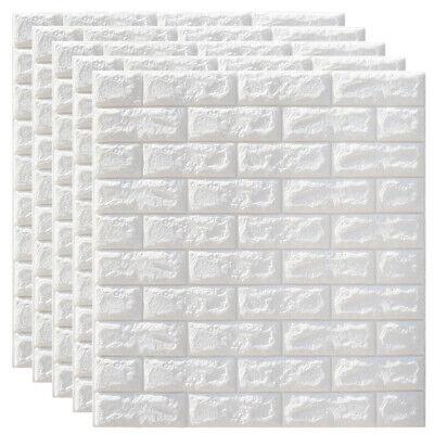 Muro Finto Pannelli 3D Adesivi effetto mattone pietra per parete 77x70cm 5mm 5x